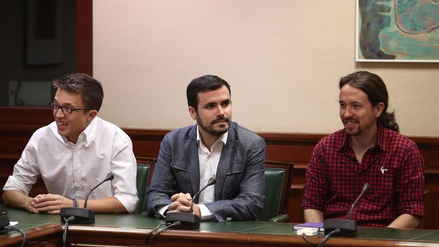 """Errejón ve """"normales"""" sus diferencias con Garzón: """"Él es un dirigente del Partido Comunista y yo de Podemos"""""""