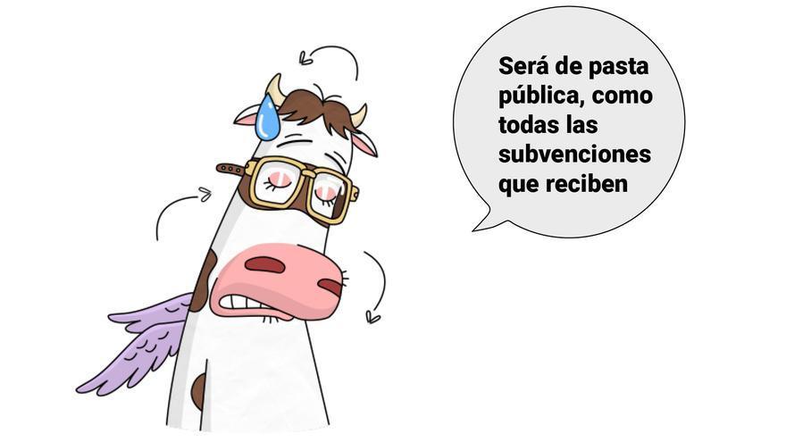 Agencia The Bold para www.ylasvacasvuelan.com