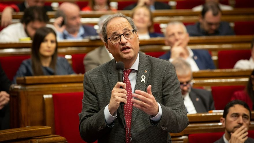 El Govern de Torra ha perdido este jueves la votación sobre la moción que le reclama elecciones