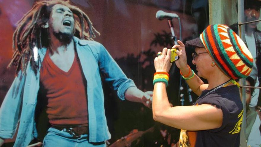 Adrian Boot, autor de las imágenes más icónicas de Bob Marley, en el Rototom