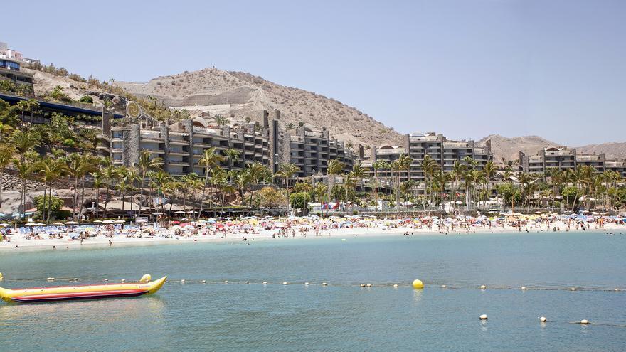 (IMAGEN DE ARCHIVO) Playa de Anfi del Mar.