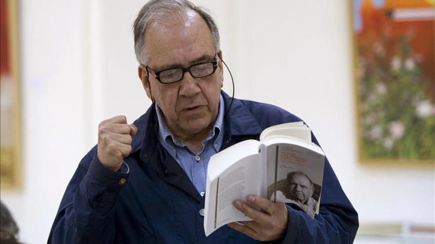 El poeta Joan Margarit obtiene el XV Premio Jaume Fuster