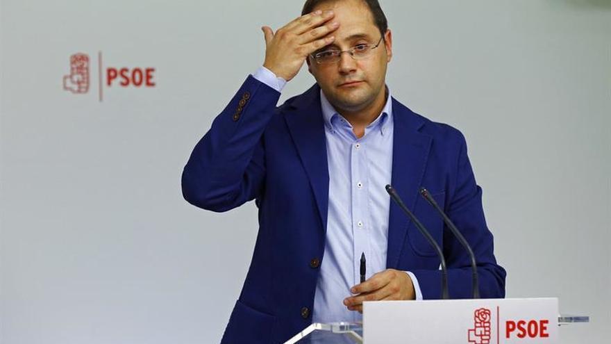 """Luena pide """"responsabilidad"""" y """"altura de miras"""" a los dirigentes del PSOE"""
