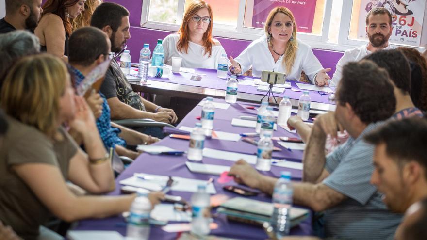 Reunión del Consejo Ciudadano Autonómico de Podemos