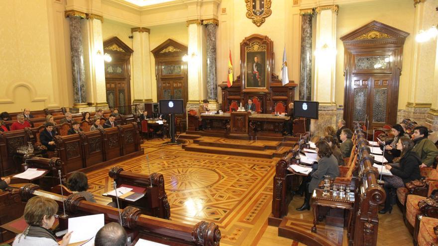 Pleno celebrado este lunes en A Coruña