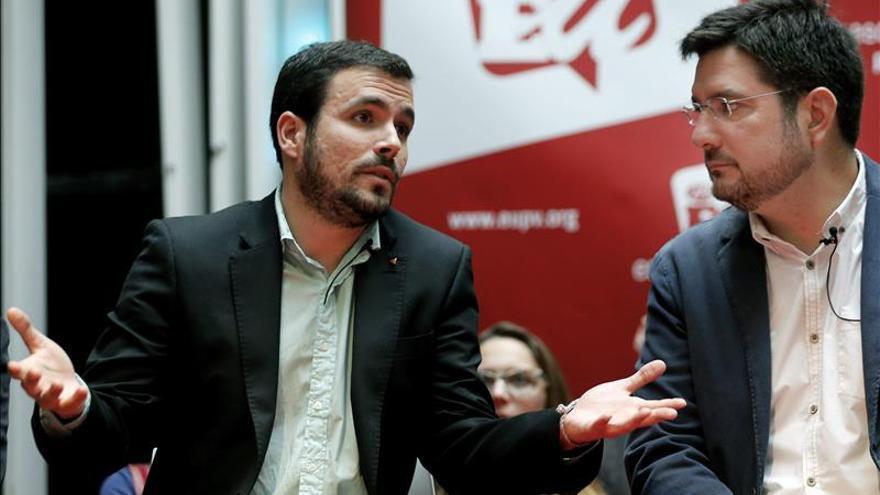 """Garzón manifiesta que el PP ha elegido a la """"promotora de la corrupción"""" para Madrid"""