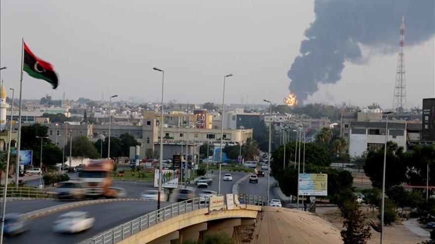 Siete niños muertos en combates artilleros en la asediada ciudad de Bengasi