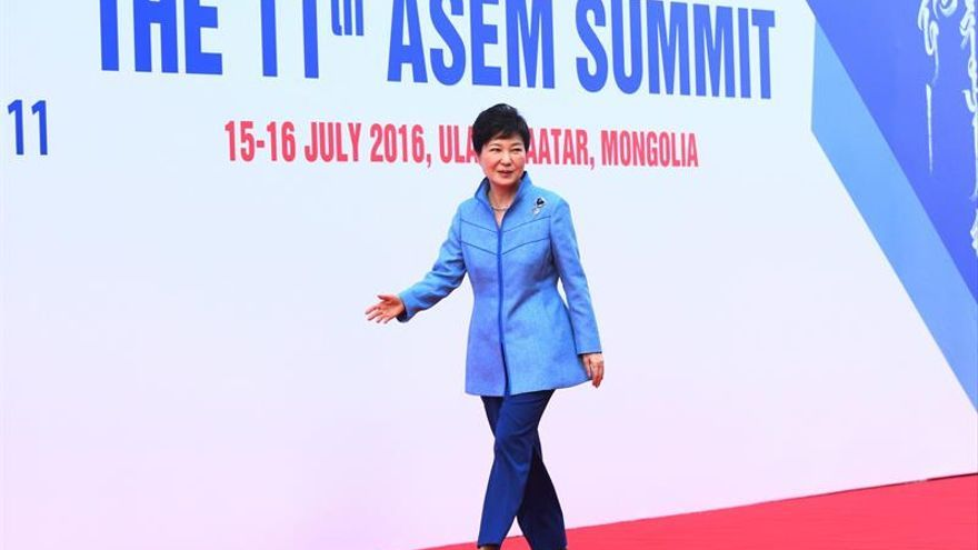 La presidenta surcoreana se reunirá con los líderes de Rusia, China y EE.UU.