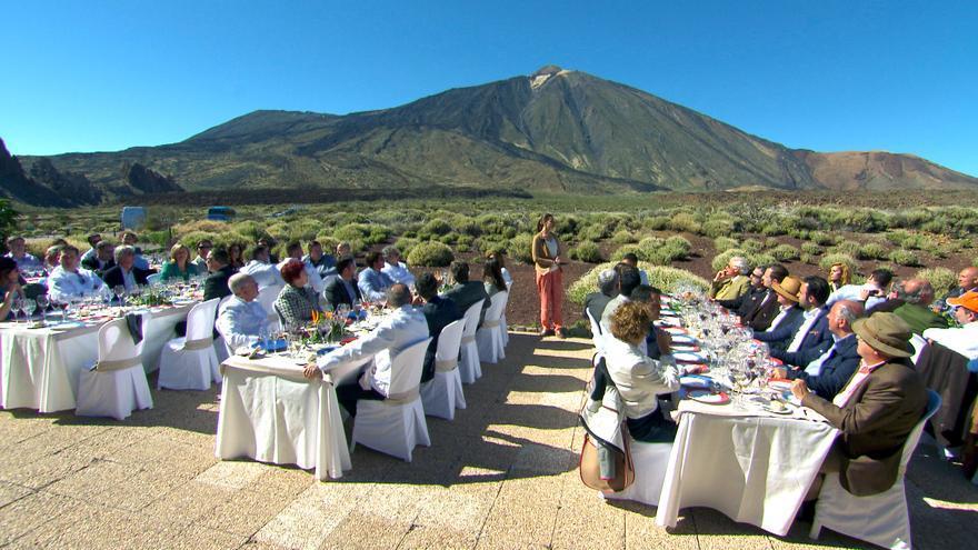 El Parque Nacional del Teide fue uno de los espacios escogidos para hacer la grabación.