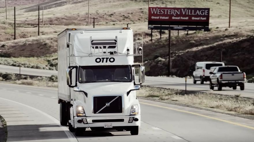 Otto, la startup de camiones autónomos que compró Uber