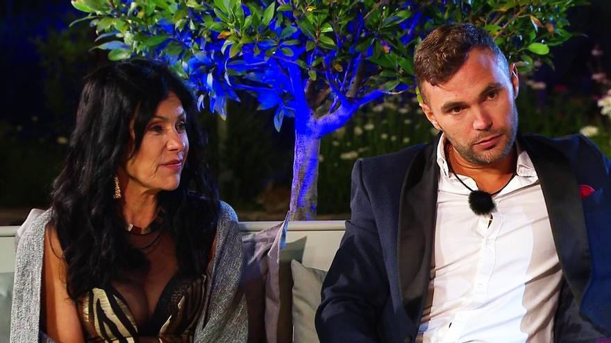 Maite Galdeano y Cristian Suescun en 'La casa fuerte'
