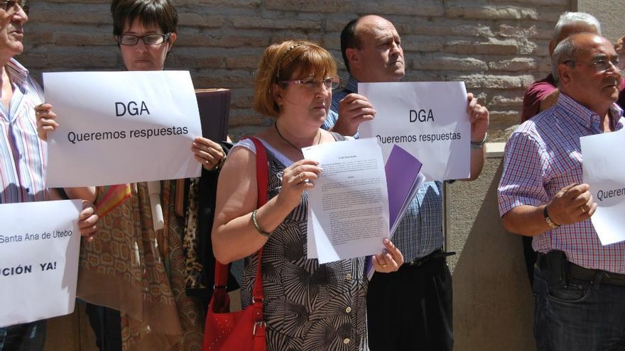 La FABZ y los familiares se han manifestado contra la DGA en muchas ocasiones