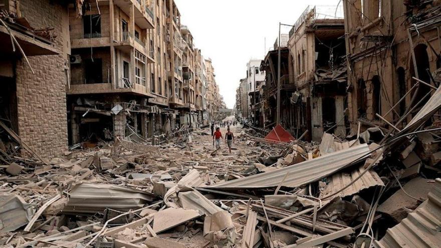 La guerra de Siria ha causado estragos en el país. (EFE).