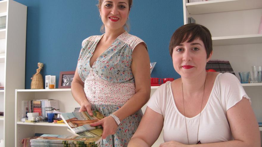 Alejandra Vanesa y Elena Medel son las artífices de la editorial La Bella Varsovia.