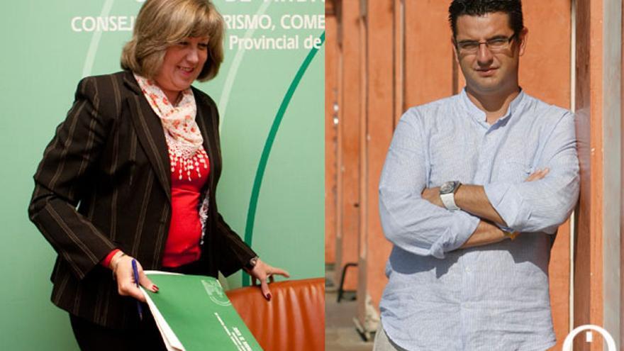 Mari Santos Córdoba y Pedro García FOTO: MADERO CUBERO