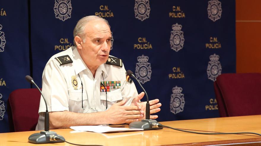 José María Moreno, jefe superior de la Policía Nacional en Canarias
