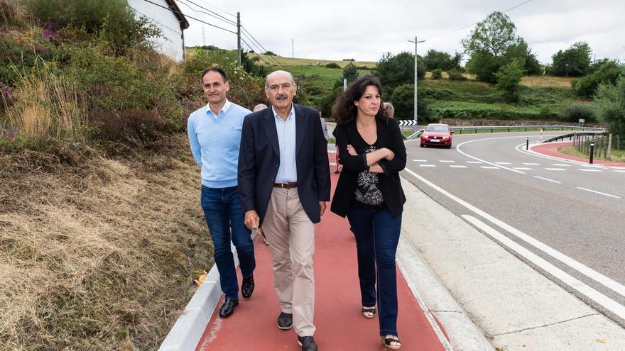El Gobierno realiza una senda peatonal para mejorar la seguridad vial en Las Rozas