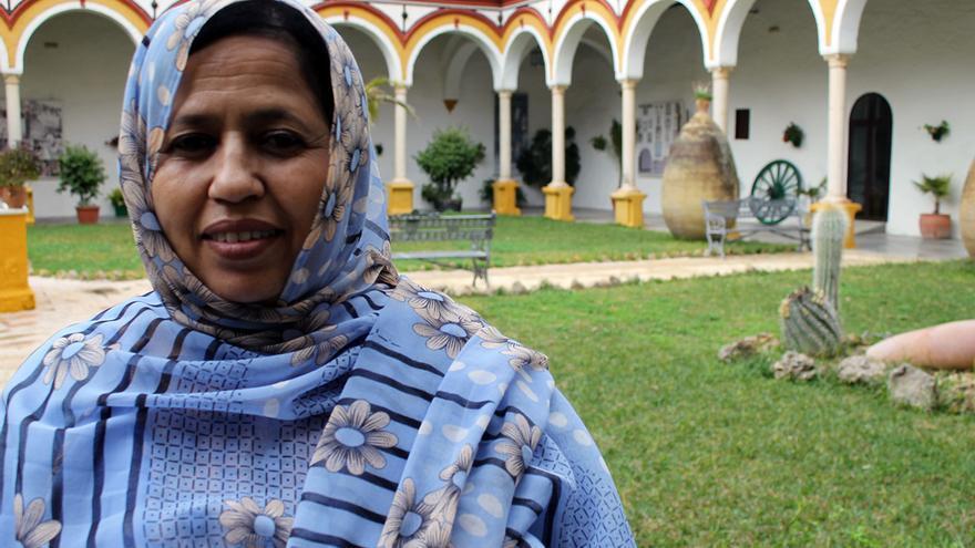 Jira Bulahi en el Encuentro de Solidaridad con el Pueblo Saharaui de Utrera (Sevilla) | JUAN MIGUEL BAQUERO