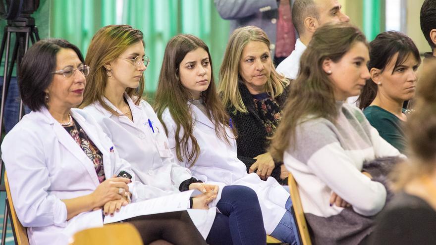 Público en Mesa redonde I jornadas Neurocientíficas