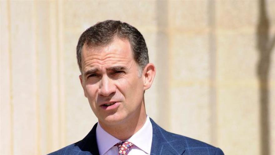 """El Rey ensalza la """"imprescindible"""" mirada de España al exterior"""