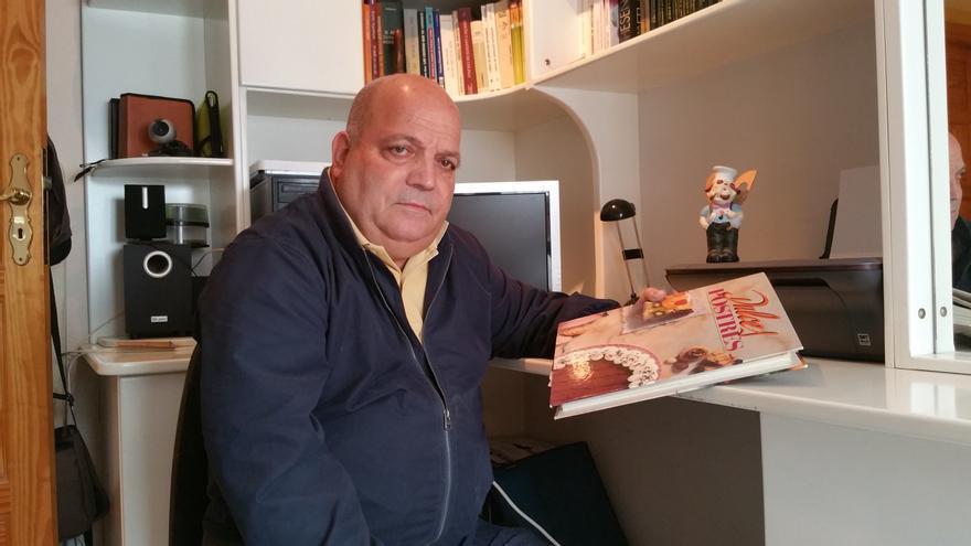 Eladio García Ferraz está jubilado desde el pasado mes de octubre. Foto: LUZ RODRÍGUEZ.