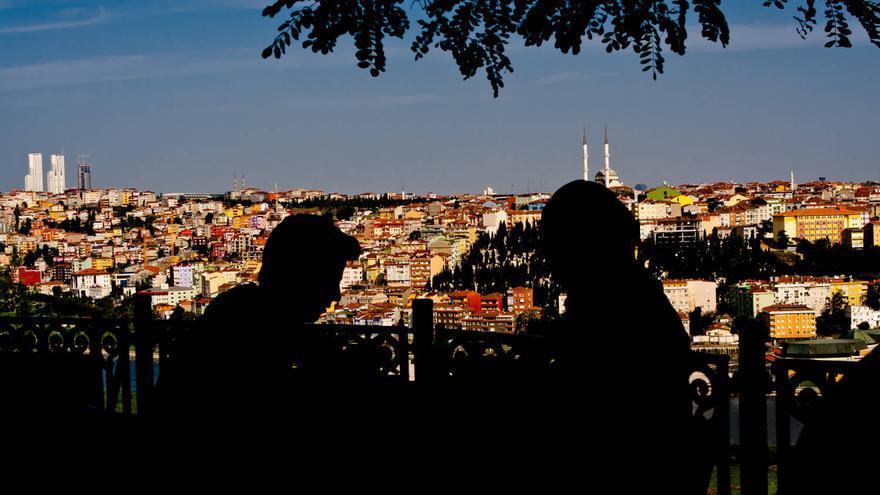 Vista de Estambul desde el Café de Pierre Loti, en las colinas de Eyüp. VIAJAR AHORA