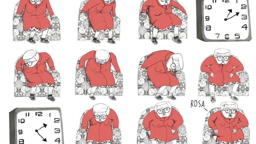 Maruja, abuela de la autora, en 'Estamos todas bien'