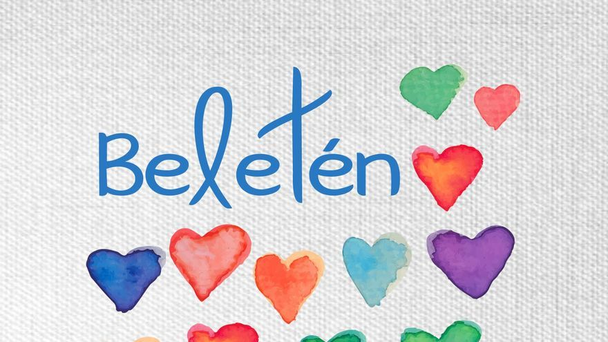 Portada del último disco del grupo Beletén, 'Píntame de colores'
