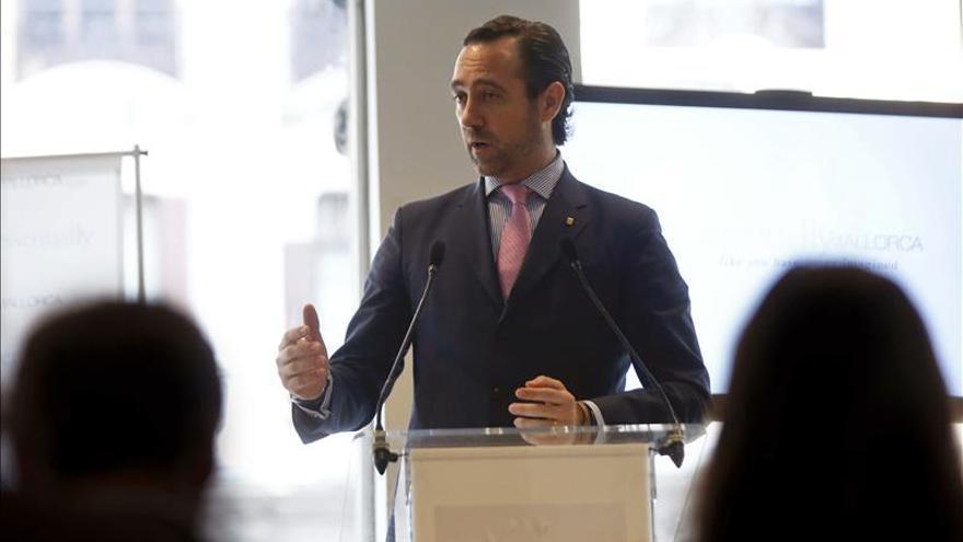 """Bauzá dice sobre la investigación al PP balear que  no tiene """"nada que esconder"""""""