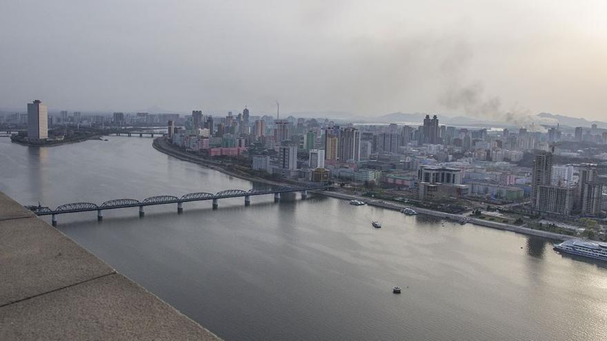 Vistas de la ciudad de Piongyang. (CA).