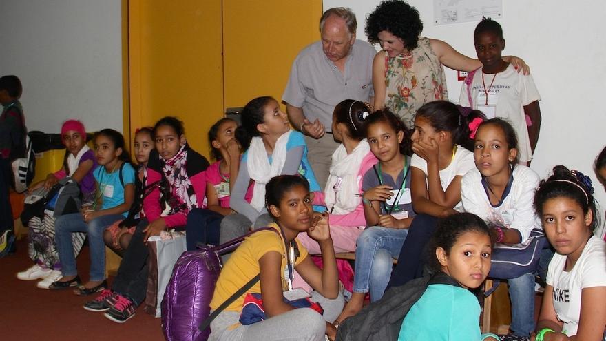 Un total de 1.230 menores saharauis llegarán a Andalucía este verano dentro del programa 'Vacaciones en paz'