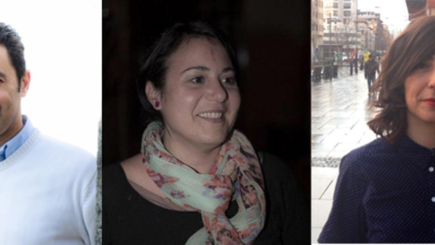 Joan Josep Bosch, Sandra González y Laura Pérez Ruano.