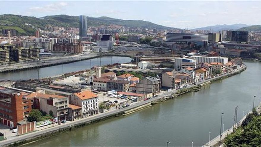Imagen de la Ría de Bilbao