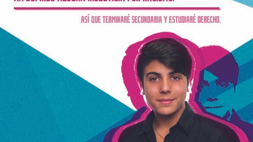 Samuel es uno de los protagonistas de la campaña de la FSG
