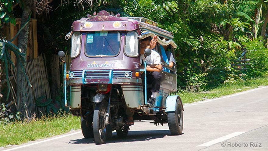 Los tuk tuk son los taxis más económicos en el Sudeste Asiático