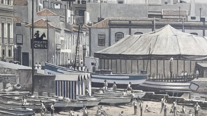 El pintor palmero Gonzalo Concepción expone en el Espacio de Arte O`Daly