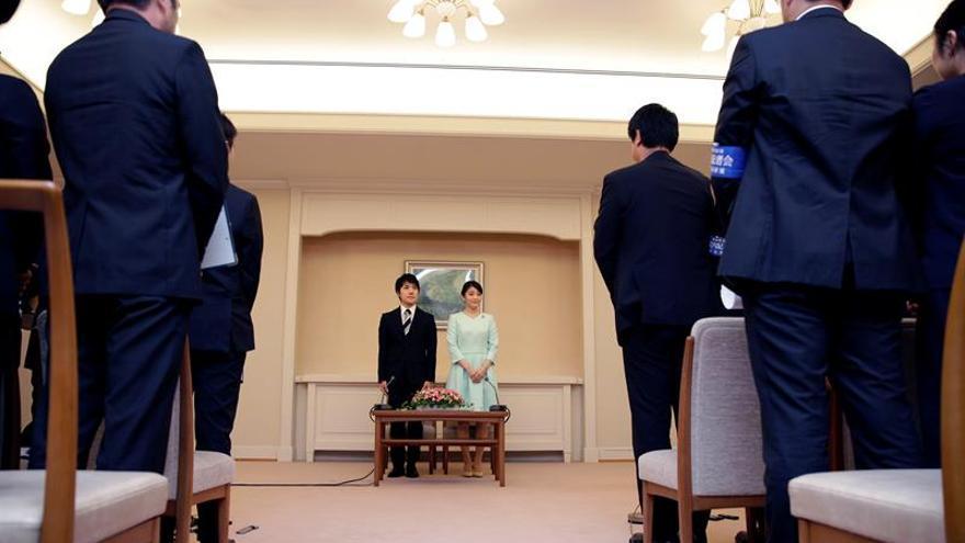 La nieta de Akihito anuncia su compromiso de boda con un compañero de universidad