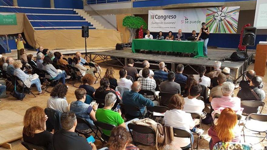 Momento del congreso celebrado este sábado en un terrero de El Rosario, en Tenerife