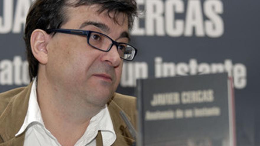 El escritor Javier Cercas