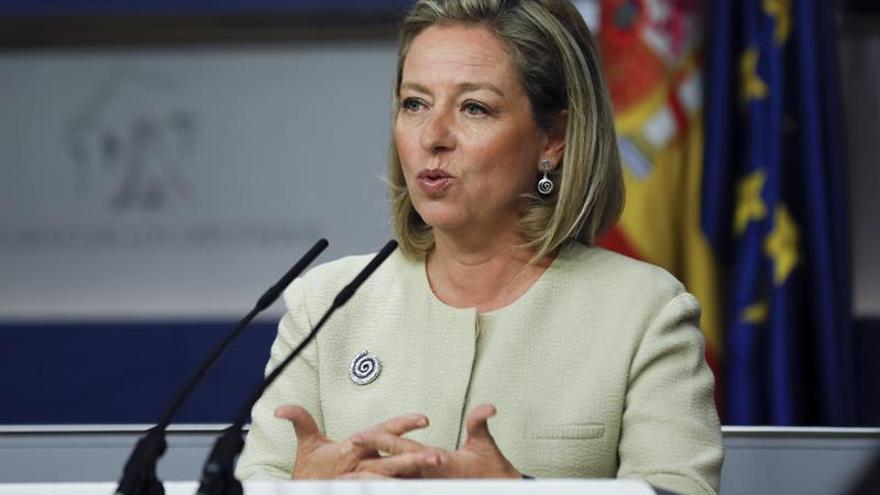 La diputada de Coalición Canaria Ana Oramas. EFE/Sergio Barrenechea
