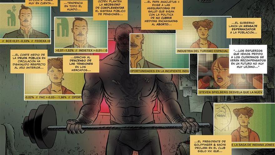 """""""Gran Hotel Abismo"""", el cómic más """"incómodo"""" de David Rubín y Marcos Prior"""