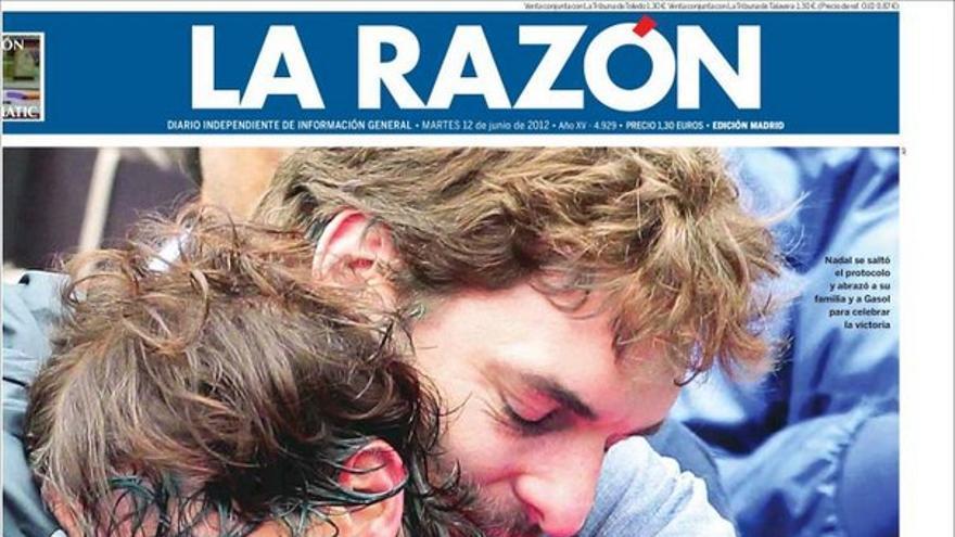 De las portadas del día (12/06/2012) #9
