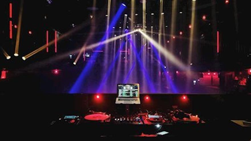 Espacio de ocio en una discoteca