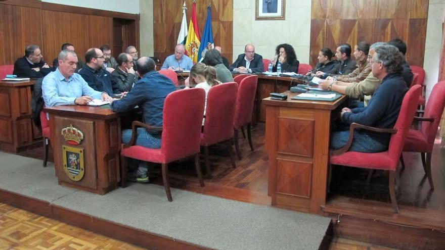 En la imagen, reunión del Consorcio Insular de Servicios de La Palma.