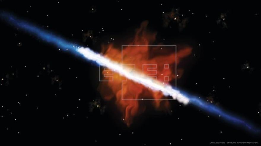 """Las galaxias, al crear estrellas, también """"contaminan"""" el cosmos"""