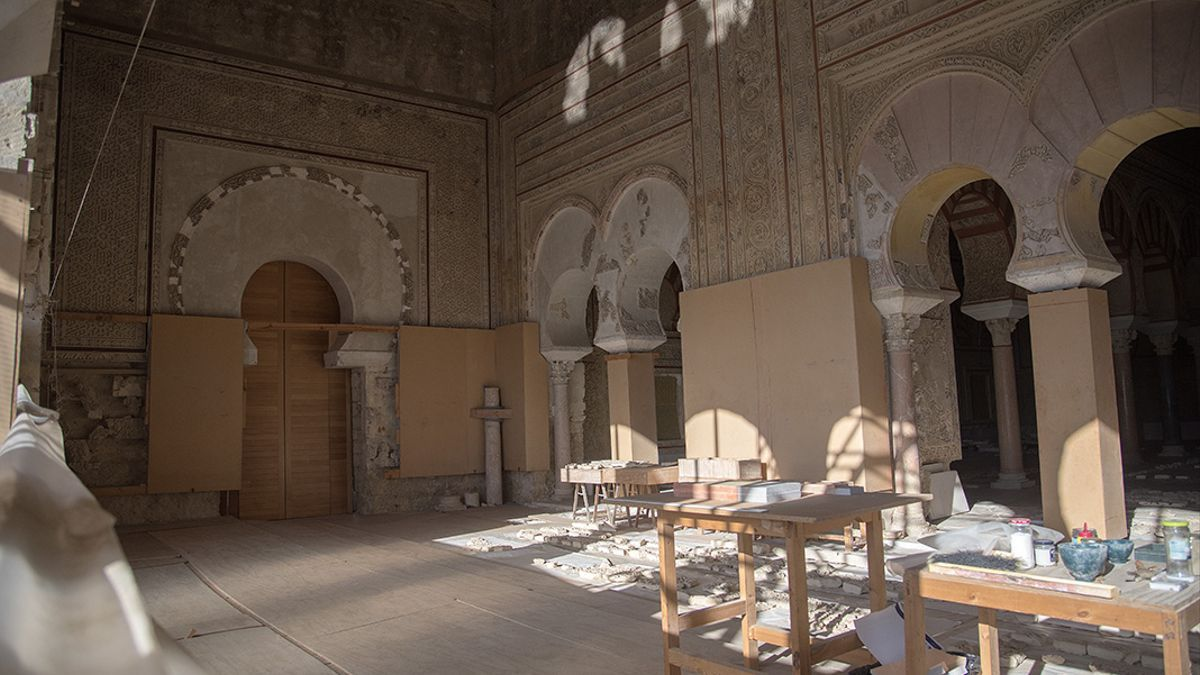 Salón Rico del Conjunto Arqueológico de Medina Azahara