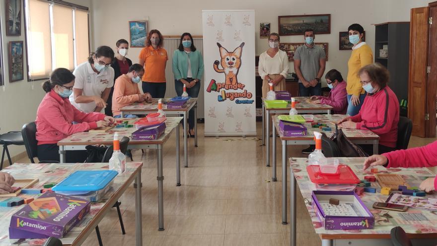 'Aprender jugando' llega a los usuarios del Centro Ocupacional Garehagua de Mazo