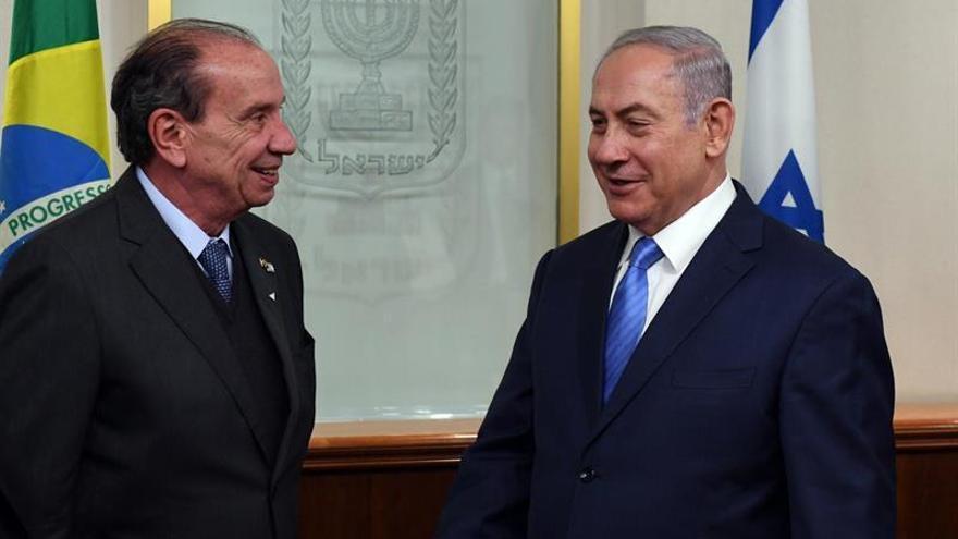 """Netanyahu cree en el """"potencial"""" de Brasil y apuesta por profundizar en los lazos"""