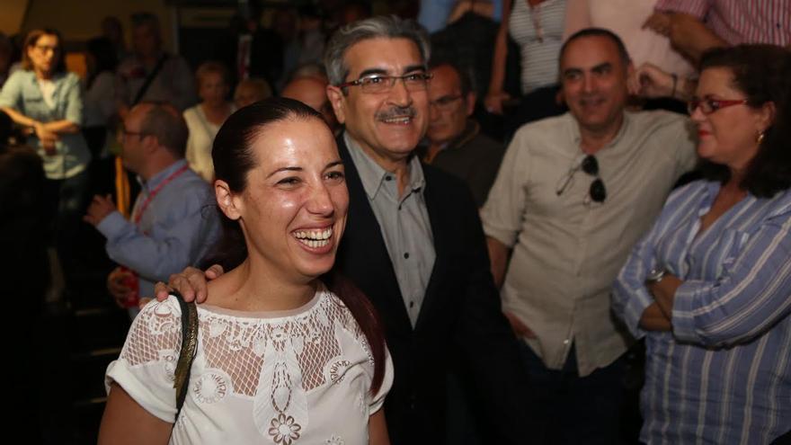 Patricia Hernández y Román Rodríguez. (ALEJANDRO RAMOS)