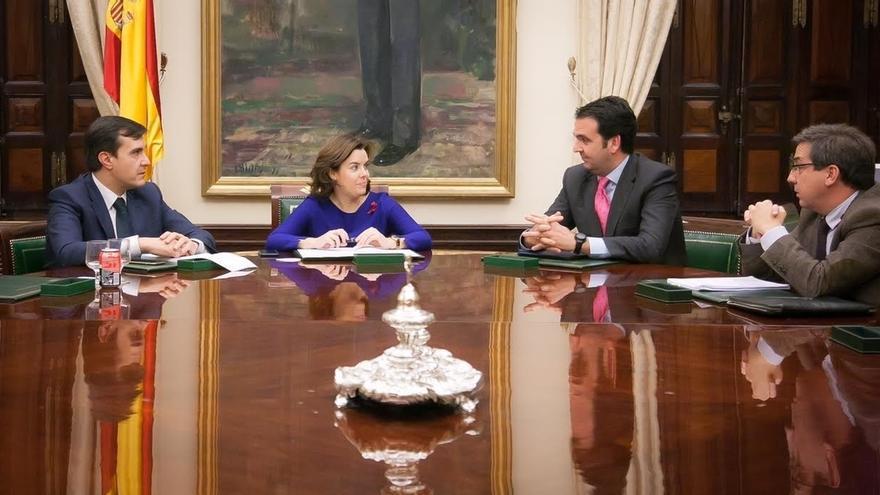 UPN pide a Santamaría que si se reforma la Constitución se elimine la posibilidad de incorporar Navarra a Euskadi